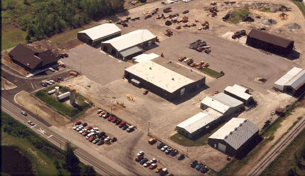 Aerial of West District
