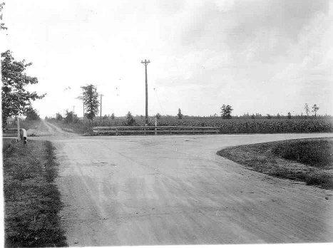Linwood & Garfield Roads 1925